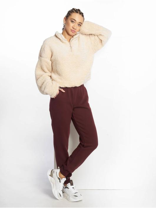 New Look Jumper Teddy Half Zip beige