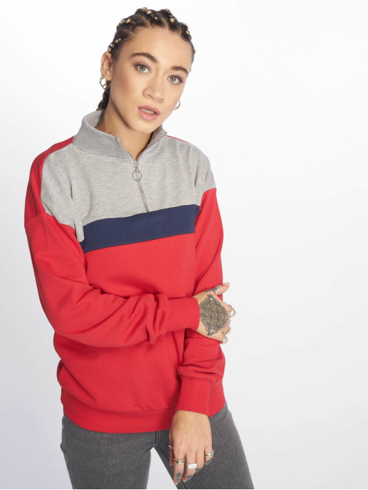 New Look Jumper WOW Colourblock red