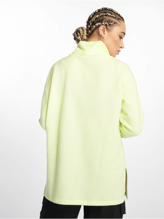 New Look Jumper C S Brushed Oversized Cowl yellow