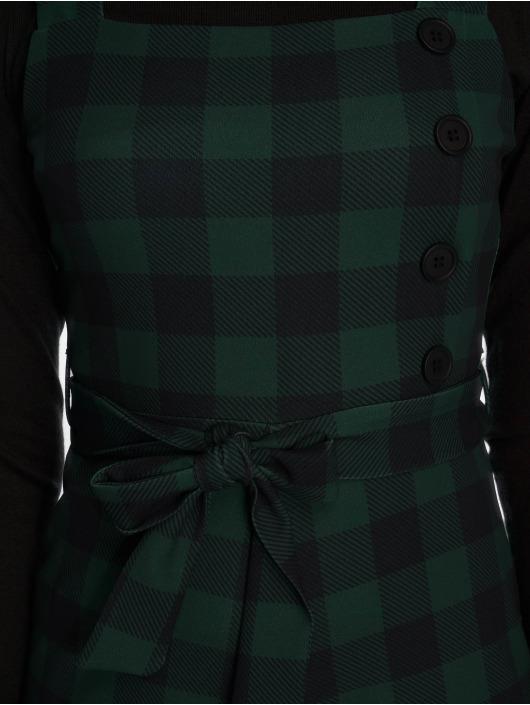 New Look Jumpsuit Scuba Crepe Check grün