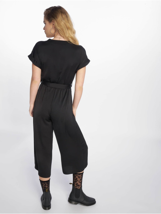 New Look Jumpsuit Bliss Peggy Button schwarz