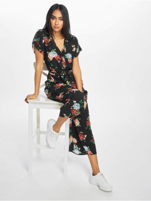 New Look jumpsuit Ameira Bloom Peggy zwart