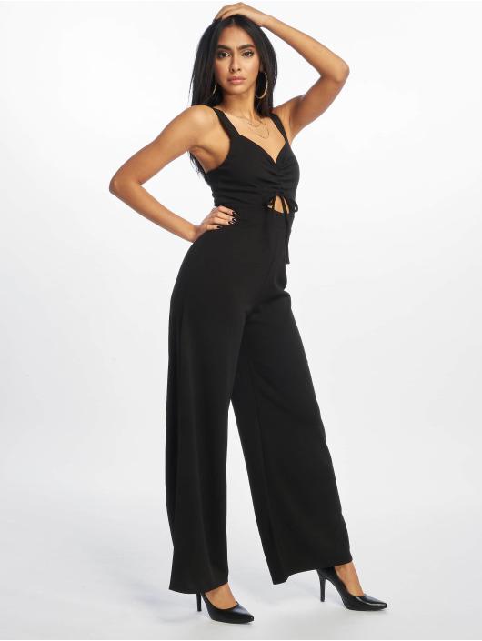 New Look jumpsuit Go Ruched Front WL zwart