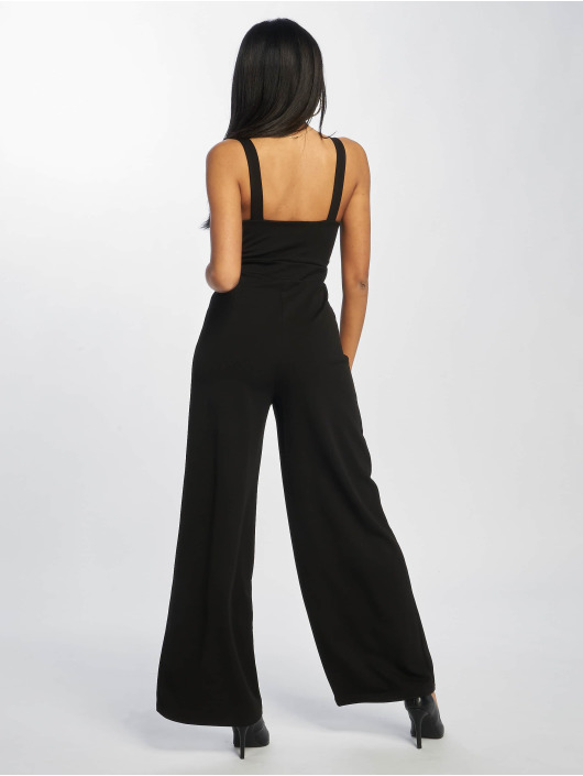 New Look Jumpsuits Go Ruched Front WL svart