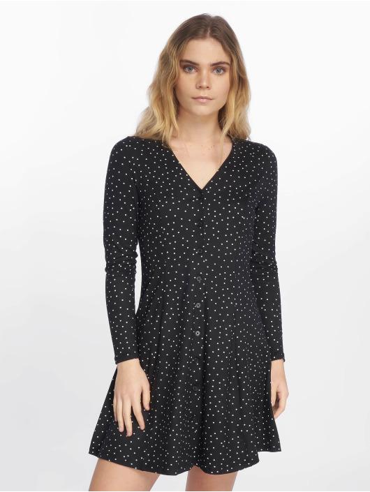 New Look jurk Candice Spot S/TCH L/SLV Button zwart