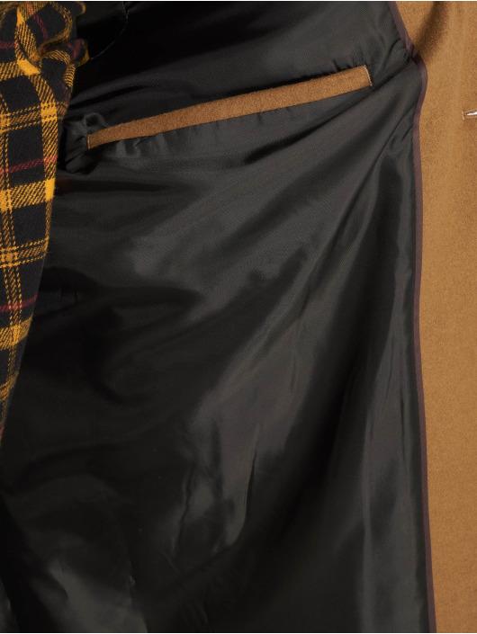 New Look Kabáty Smart hnedá