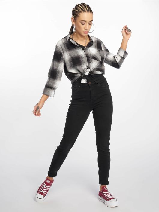 New Look Koszule LI Martha Mono Check czarny