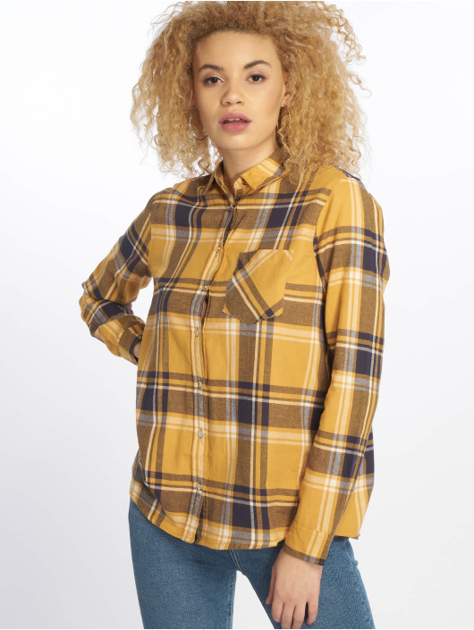 New Look Koszule Stanley Check zólty