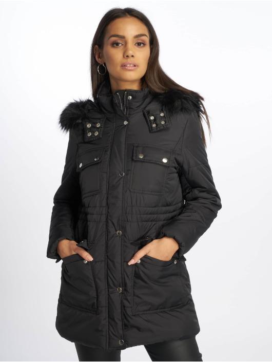 New Look Kurtki pikowane Ll Seattle Ski czarny