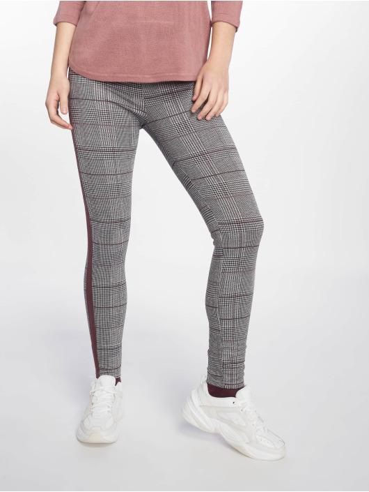 New Look Legging Check Side Stripe grijs