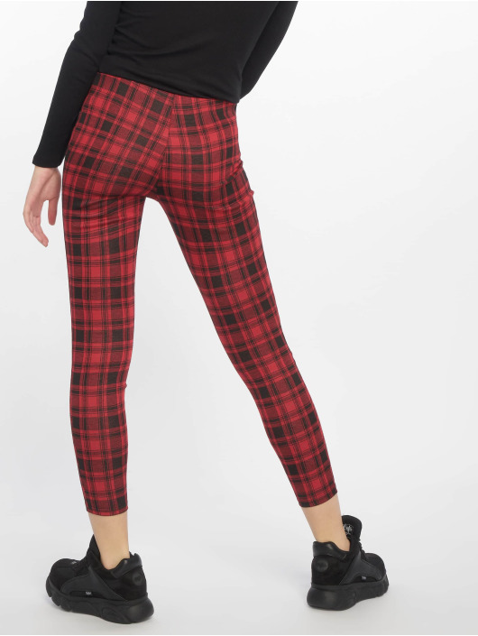New Look Legging/Tregging Red Check red