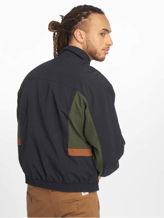 New Look Lightweight Jacket Funnel Blocked Transition blue