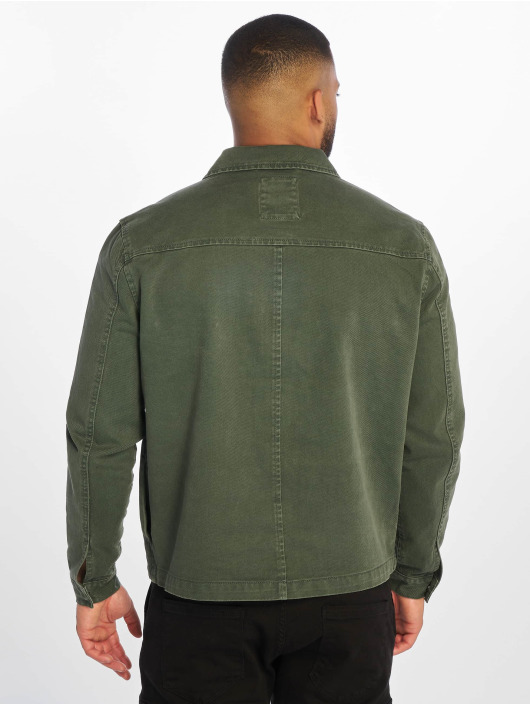 New Look Lightweight Jacket Utility Shacket khaki