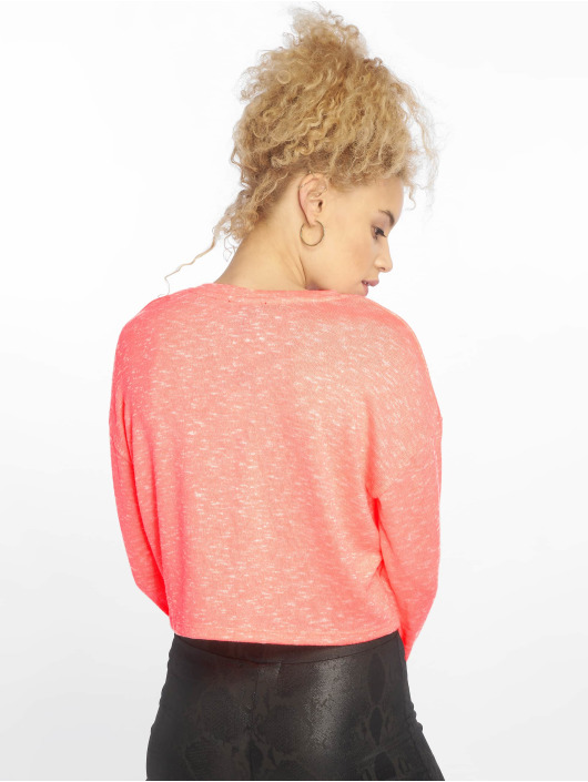 New Look Longsleeve C S Boxy Fluro orange