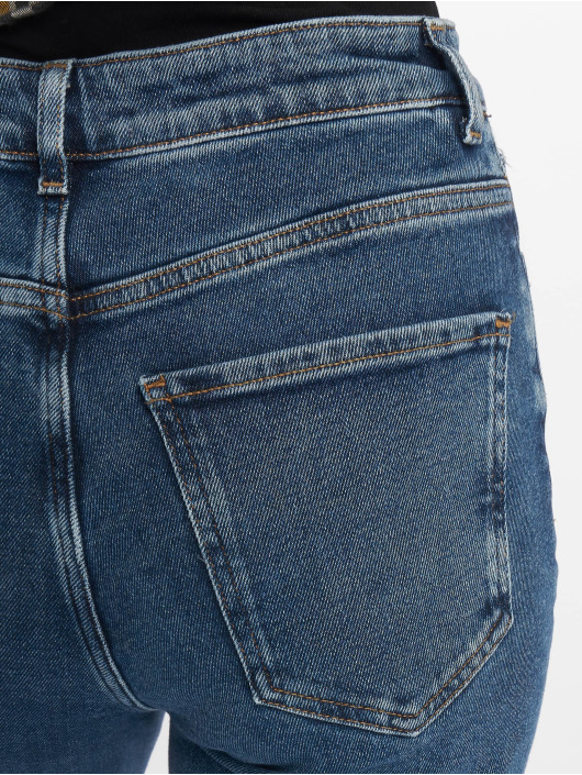 New Look Mamma Jeans Ripped blå