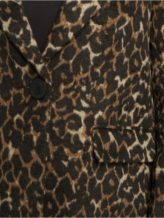 New Look Manteau Formal Animal Lead In brun