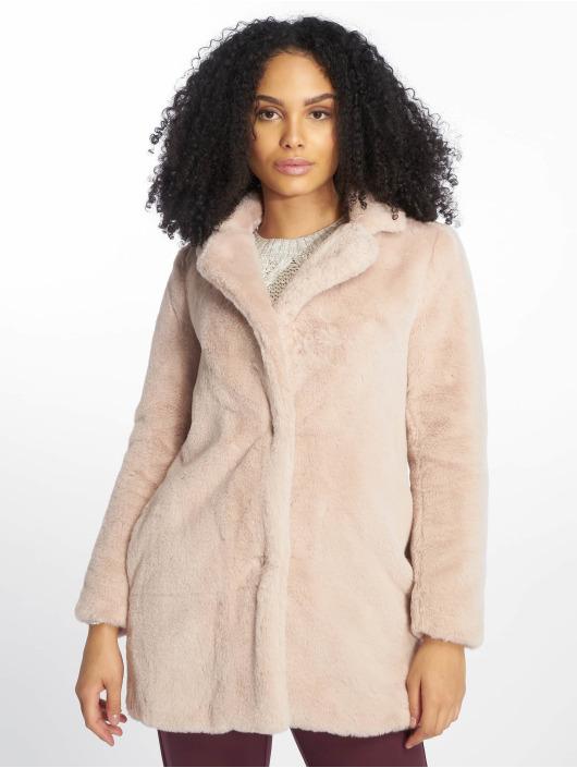 New Look Manteau OP AW18 LI Faux Fur rose