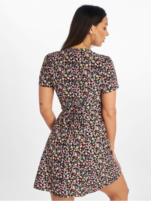New Look Mekot Chloe Floral Lattice Back musta