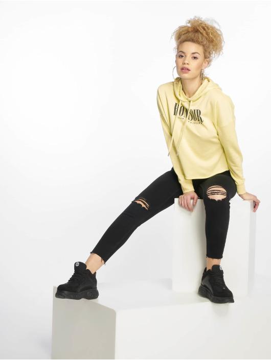 New Look Mikiny T NYC MTJ žltá