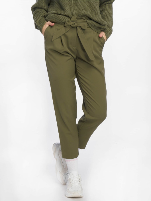 New Look Pantalon chino Miller Tie olive