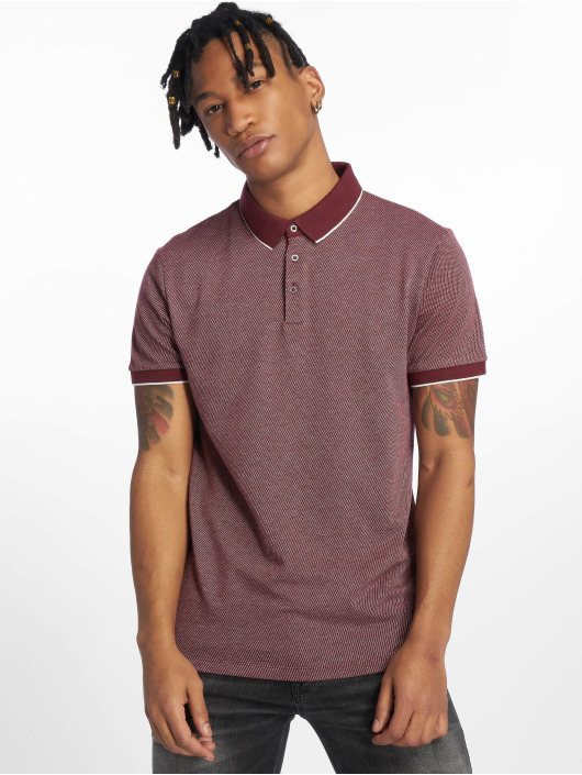 New Look Polo AOP Jacq rouge