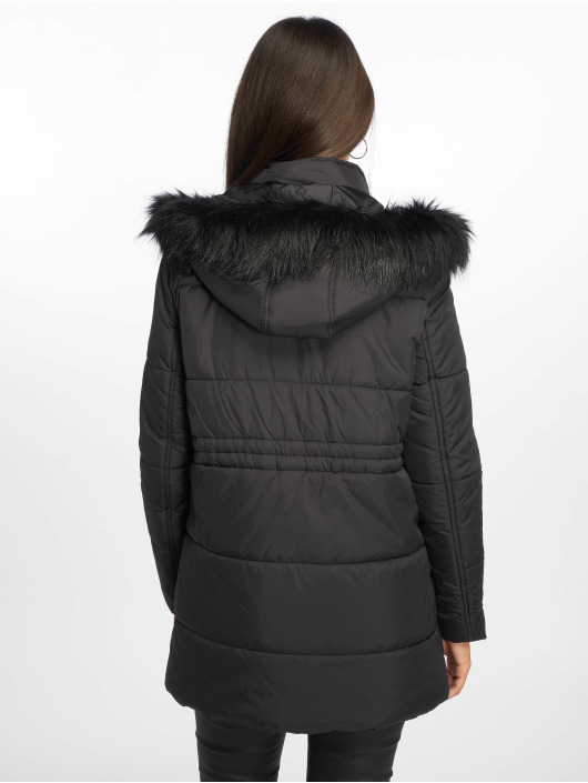 New Look Puffer Jacket Ll Seattle Ski black