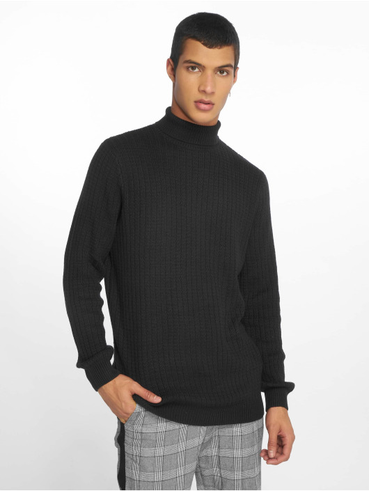 New Look Pullover Racking Stitch blau