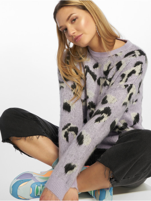 New Look Pullover Animal purple