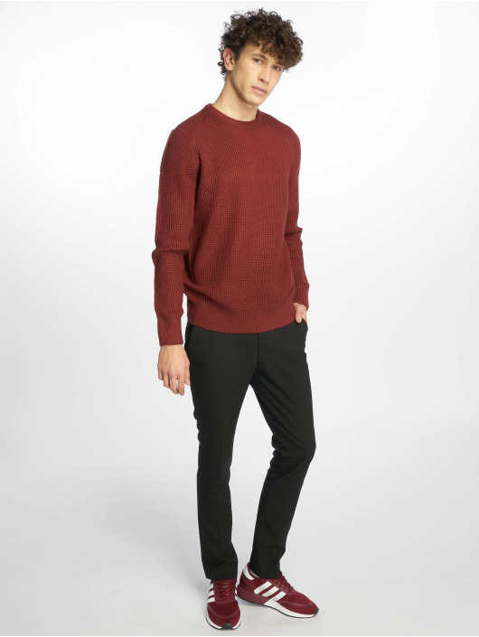 New Look Pullover Tuck Stitch rot