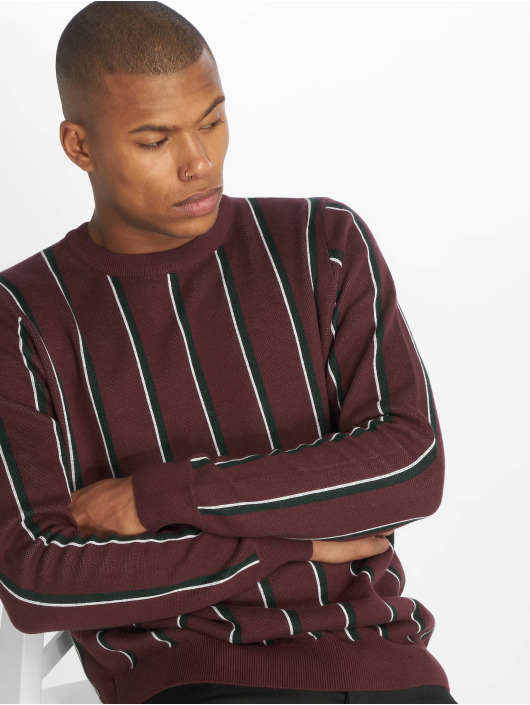 New Look Pullover Vertical Stripe rot