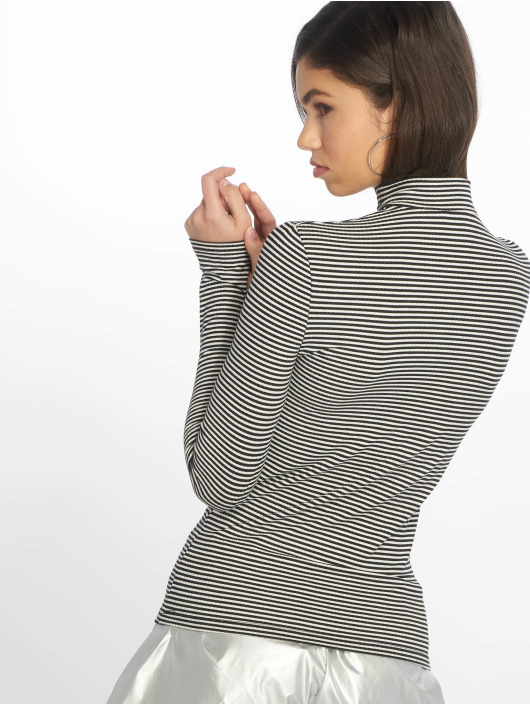New Look Pullover Stripe schwarz