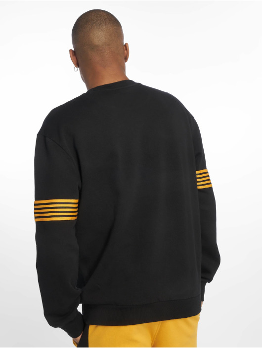 New Look Pullover H Tape schwarz