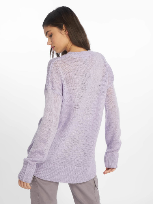 New Look Pullover Jumper violet