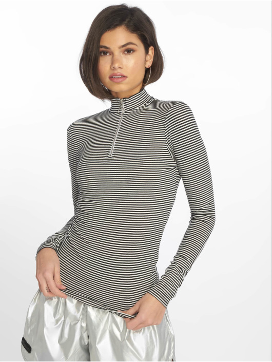 New Look Pulóvre Stripe èierna