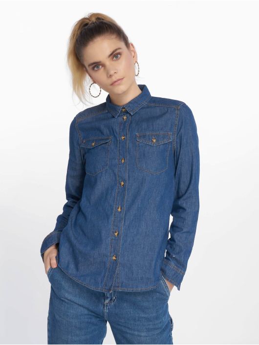 New Look Puserot/Tunikat AW18 LI Shirt Barnes sininen