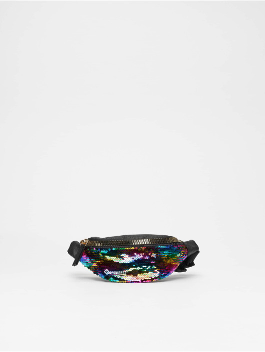 New Look Sac Rainbow Sequin Bum multicolore
