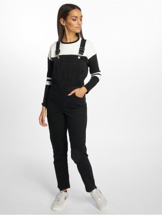 New Look Salopette Fr Full Dungaree Brittlestar noir