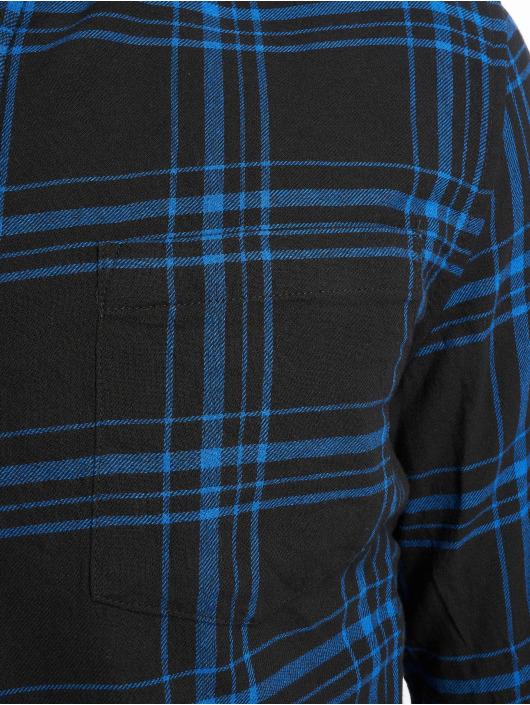 New Look Shirt Ls Epp Blk Cobalt Check blue
