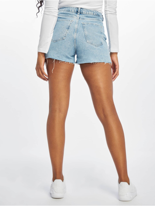 New Look Shorts Extrme Amelie Rip blå