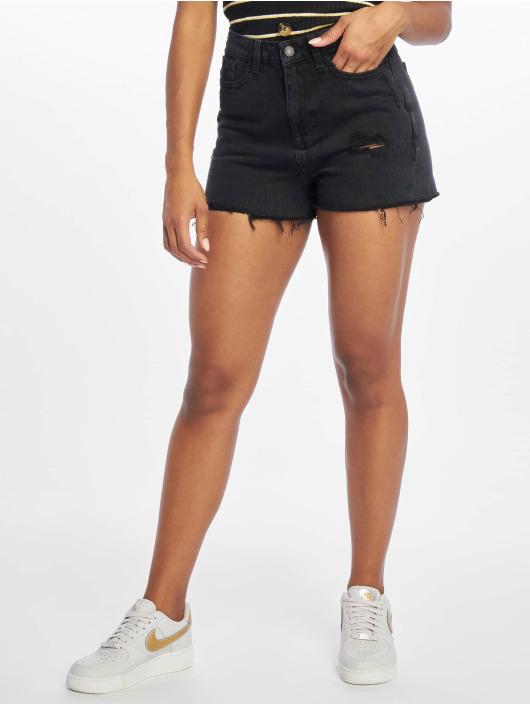 New Look Shorts LI Cranberry Mom svart