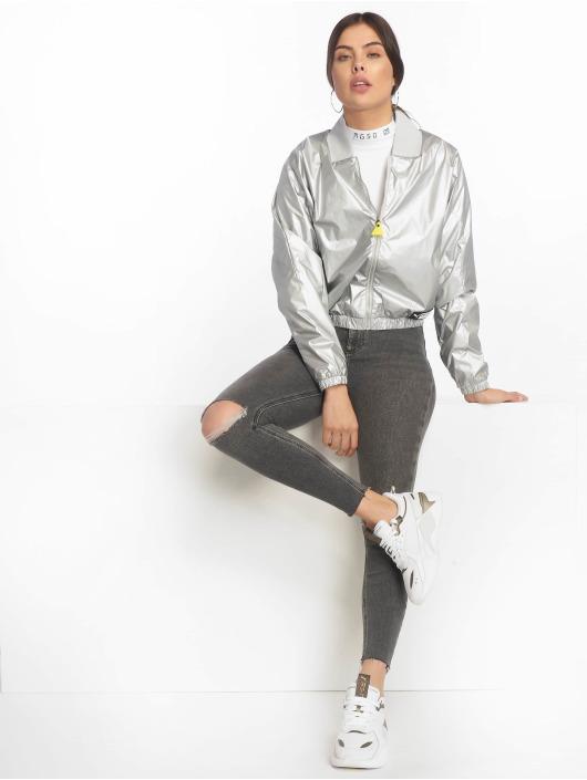 New Look Skinny Jeans Vanessa Disco Sooty šedá
