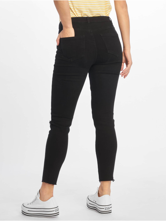 New Look Skinny Jeans Disco FS Cut Off Super black