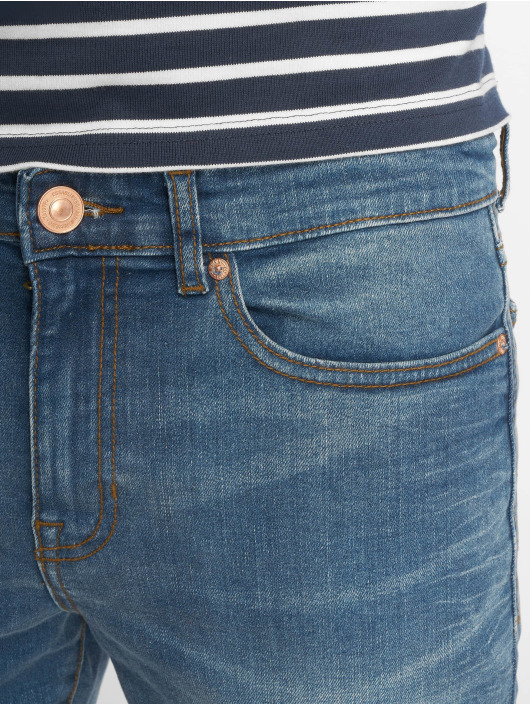 New Look Skinny jeans Eugene Busted Knee blauw