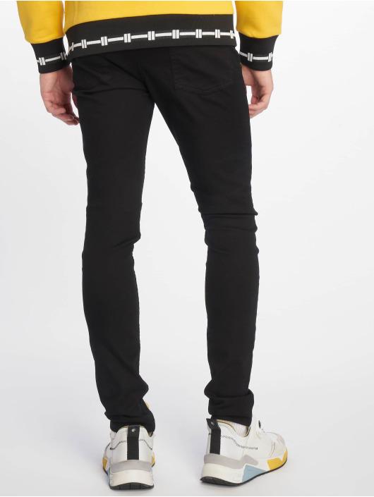 New Look Skinny Jeans Black schwarz