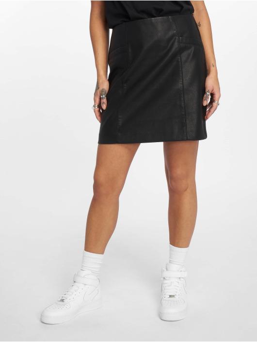 New Look Skirt AW18 PU black