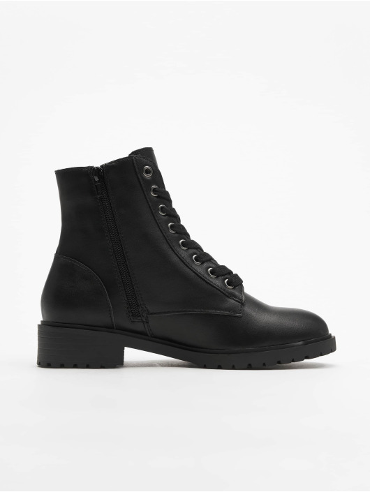 New Look Sneakers Charles PU Lace Up Chunky èierna