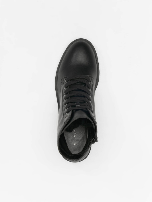 New Look Sneakers Charles PU Lace Up Chunky czarny