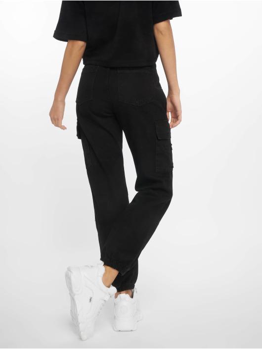New Look Spodnie Chino/Cargo Malibu Ex Rip czarny