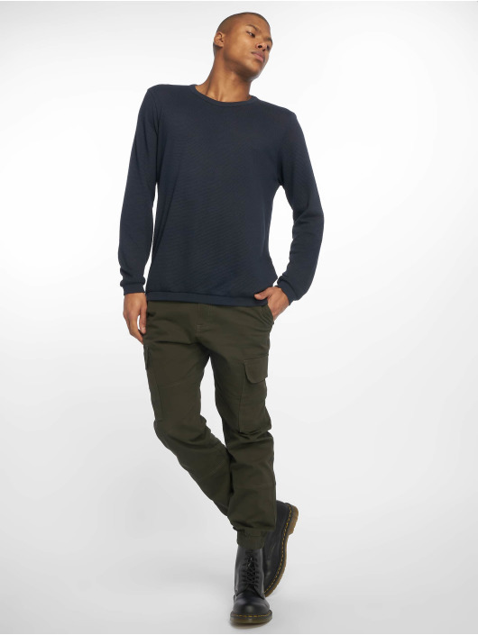 New Look Spodnie Chino/Cargo Half Elasticated khaki