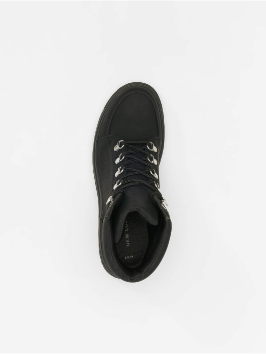 New Look Støvler Chunk - Extreme Chunky Lace Up svart